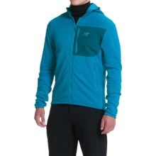 Arc'teryx Fortrex Polartec® Power Stretch® Fleece Hoodie - Full Zip (For Men) in Riptide - Closeouts