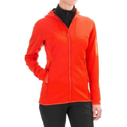 Arc'teryx Fortrez Hooded Jacket (For Women) in Fiesta - Closeouts
