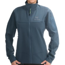Arc'teryx Gamma LT Soft Shell Jacket (For Men) in Blue Smoke - Closeouts