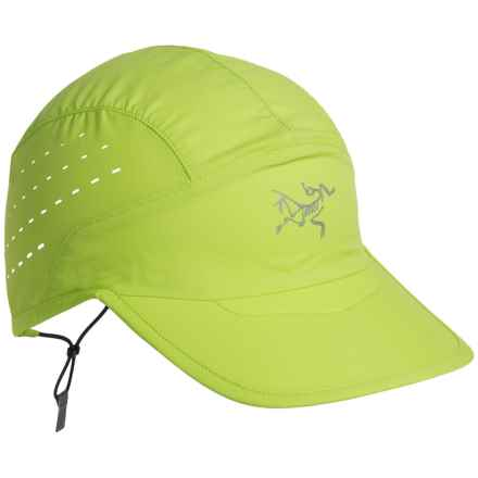 Arc'teryx Incendo Baseball Cap - UPF 25 (For Men and Women) in Mantis Green - Closeouts