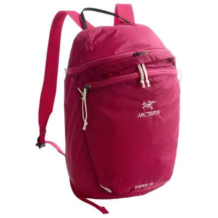 Arc'teryx Index 15L Backpack in Vanda Orchid - Closeouts