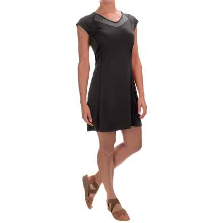 Arc'teryx Kapta Dress - Short Sleeve (For Women) in Carbon Copy - Closeouts