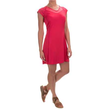 Arc'teryx Kapta Dress - Short Sleeve (For Women) in Pink Tulip - Closeouts