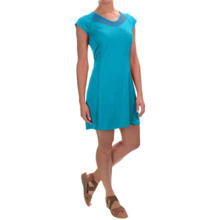 Arc'teryx Kapta Dress - Short Sleeve (For Women) in Vultee Blue - Closeouts