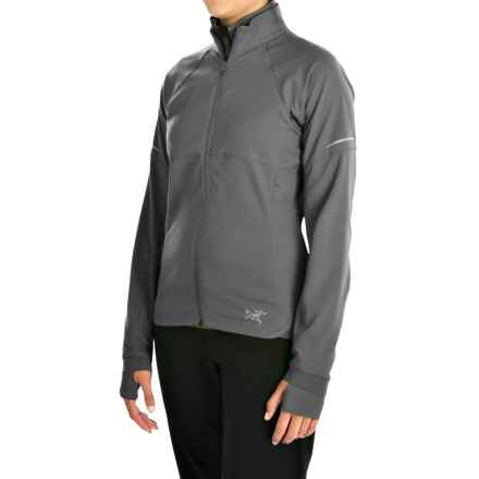 Arc'teryx Kapta Jacket (For Women) in Iron Anvil - Closeouts
