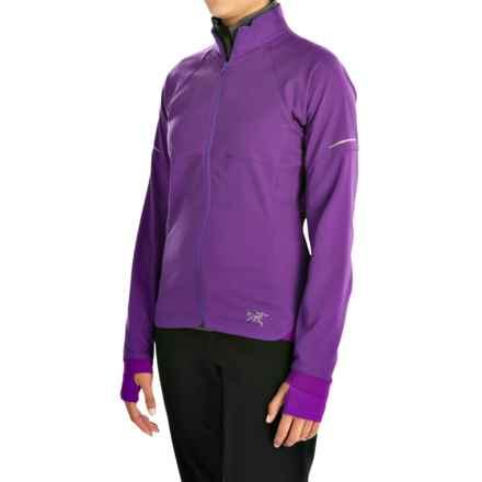 Arc'teryx Kapta Jacket (For Women) in Violette - Closeouts