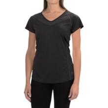 Arc'teryx Kapta Shirt - V-Neck, Short Sleeve (For Women) in Carbon Copy - Closeouts