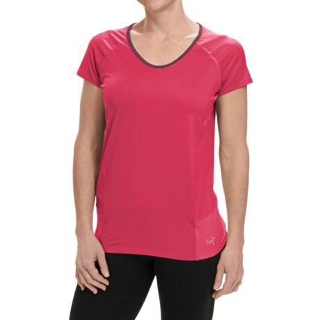 Arc'teryx Kapta Shirt - V-Neck, Short Sleeve (For Women)