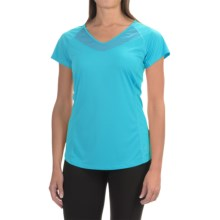 Arc'teryx Kapta Shirt - V-Neck, Short Sleeve (For Women) in Vultee Blue - Closeouts