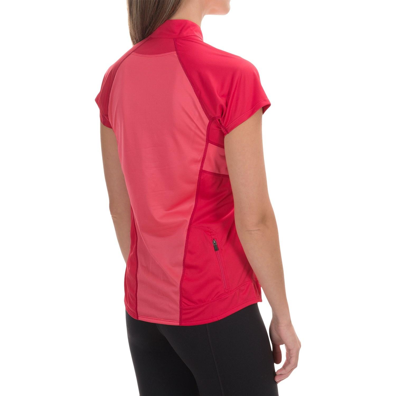 Arc Teryx Kapta Zip Neck Shirt For Women Save 38