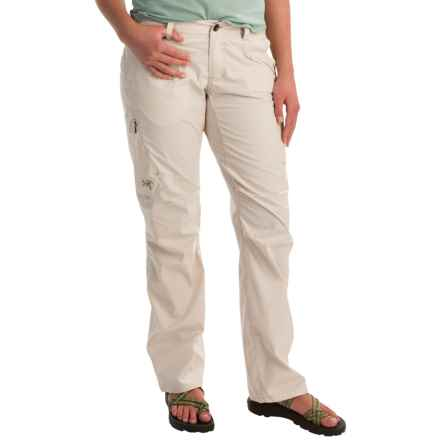 Arc'teryx Kenna Pants (For Women) in Luna - Closeouts