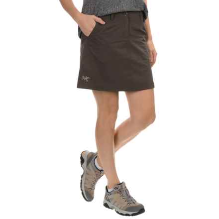 Arc'teryx Kenna Skirt (For Women) in Cast Iron - Closeouts