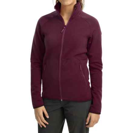 Arc'teryx Maeven Jacket - Polartec® Power Stretch® Pro (For Women) in Chandra Purple - Closeouts