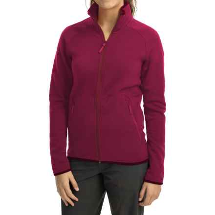Arc'teryx Maeven Jacket - Polartec® Power Stretch® Pro (For Women) in Roseberry - Closeouts