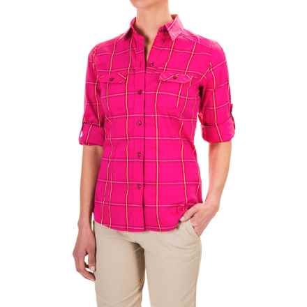 Arc'teryx Melodie Shirt - Long Sleeve (For Women) in Pink Lotus - Closeouts