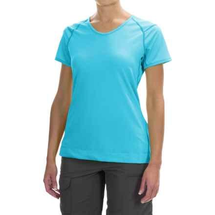 Arc'teryx Mentum T-Shirt - Short Sleeve (For Women) in Vultee Blue - Closeouts
