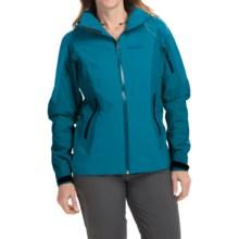 Arc'teryx Meta Gore-Tex® Jacket - Waterproof, Insulated (For Women) in Cyan Blue - Closeouts