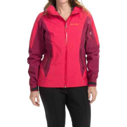 Arc'teryx Meta Gore-Tex® Jacket - Waterproof, Insulated (For Women) in Rose Pink - Closeouts