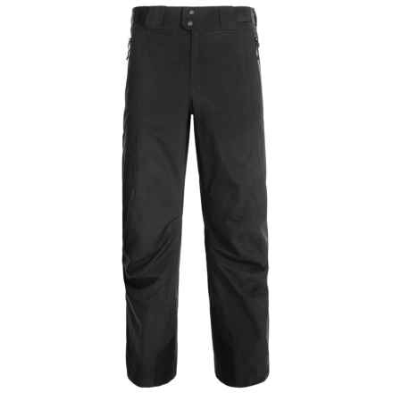 Arc'teryx Mirrex Gore-Tex® Ski Pants - Waterproof, Insulated (For Men) in Black - Closeouts