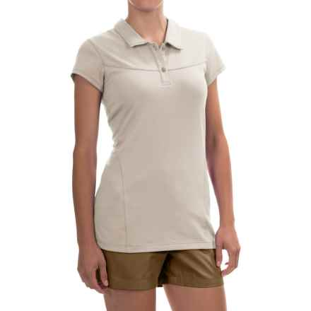 Arc'teryx Motive Polo Shirt - UPF 50+, Short Sleeve (For Women) in Luna - Closeouts