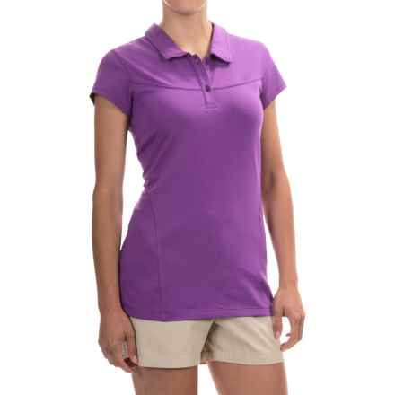 Arc'teryx Motive Polo Shirt - UPF 50+, Short Sleeve (For Women) in Viola - Closeouts