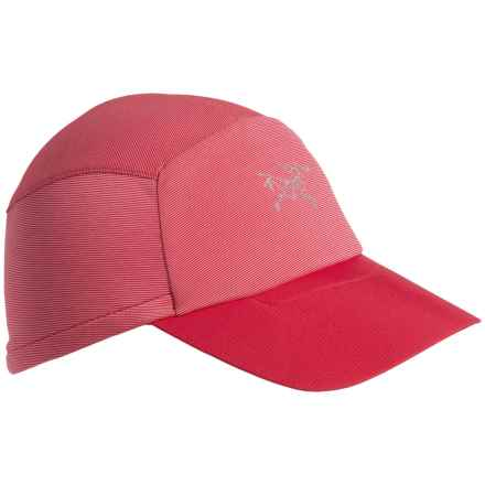Arc'teryx Motus Baseball Cap - UPF 25 (For Men and Women) in Pink Tulip - Closeouts