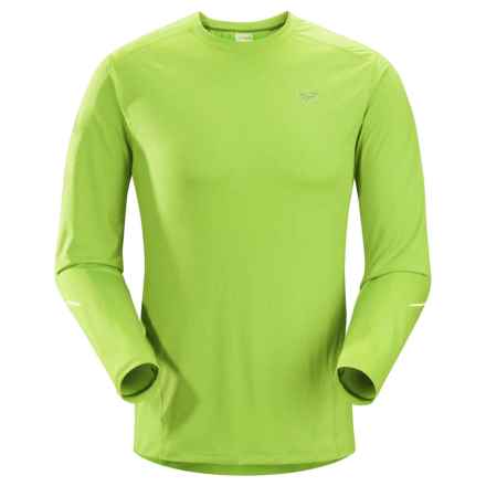 Arc'teryx Motus Crew Shirt - UPF 50+, Long Sleeve (For Men) in Mantis Green - Closeouts