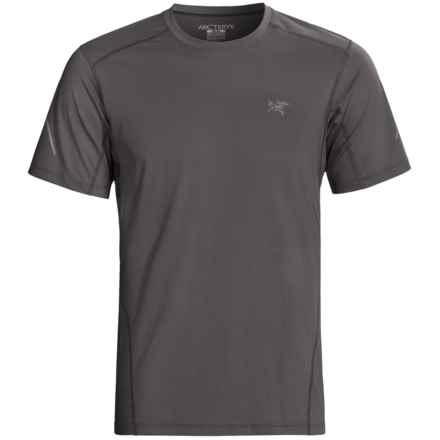 Arc'teryx Motus Crew T-Shirt - UPF 25, Short Sleeve (For Men) in Iron Anvil - Closeouts