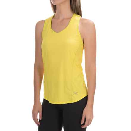 Arc'teryx Motus Tank Top - UPF 25+, Racerback (For Women) in Lemon Zest - Closeouts