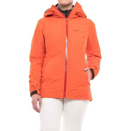 Arc'teryx Nadina Gore Thermium® Jacket - Insulated (For Women) in Orange Julia - Closeouts