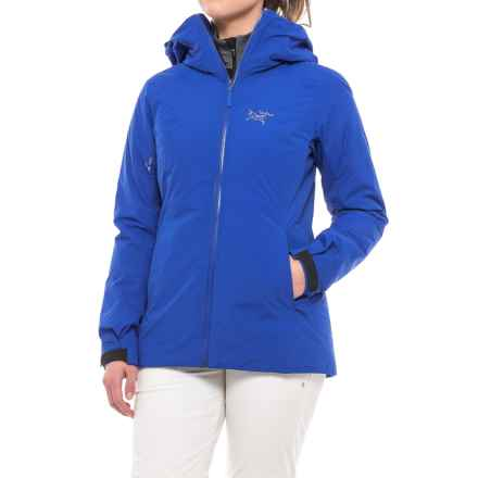 Arc'teryx Nadina Gore Thermium® Jacket - Insulated (For Women) in Somerset Blue - Closeouts