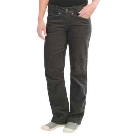 Arc'teryx Naely Corduroy Pants - Relaxed Fit (For Women) in Carbon Copy - Closeouts