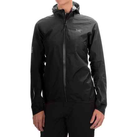 Arc'teryx Norvan Gore-Tex® 3L Hooded Jacket - Waterproof (For Women) in Carbon Copy - Closeouts