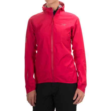 Arc'teryx Norvan Gore-Tex® 3L Hooded Jacket - Waterproof (For Women) in Pink Tulip - Closeouts