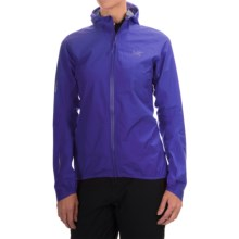 Arc'teryx Norvan Gore-Tex® 3L Hooded Jacket - Waterproof (For Women) in Tanzanite - Closeouts