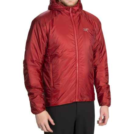 Arc'teryx Nuclei FL Hooded Jacket - Insulated (For Men) in Aruna - Closeouts
