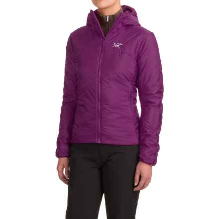 Arc'teryx Nuclei Hooded Jacket - Insulated (For Women) in Violet Wine - Closeouts