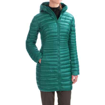 Arc'teryx Nuri Down Parka - Hooded (For Women) in Niagara - Closeouts