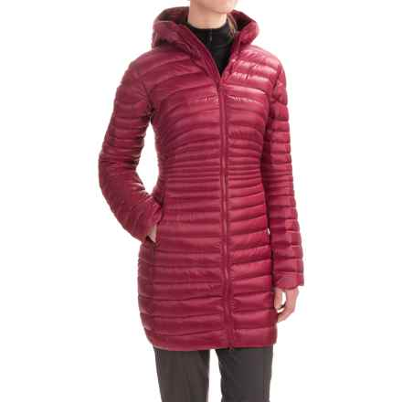Arc'teryx Nuri Down Parka - Hooded (For Women) in Rosa - Closeouts