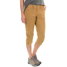 Arc'teryx Parapet Capris - UPF 45 (For Women) in Gobi Brown - Closeouts