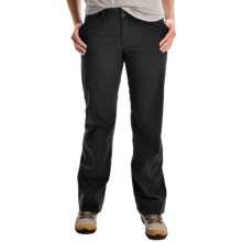 Arc'teryx Parapet Pants - UPF 50 (For Women) in Black Ii - Closeouts