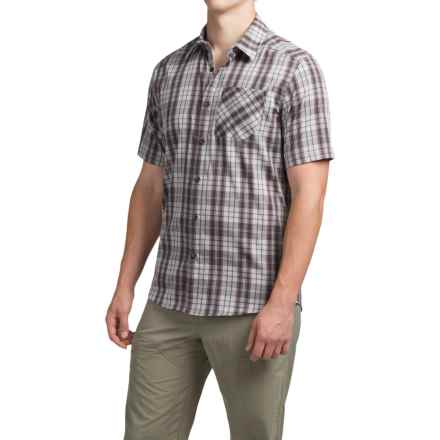 Arc'teryx Pathline Shirt - Short Sleeve (For Men) in Harbour Grey - Closeouts
