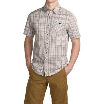 Arc'teryx Peakline Shirt - Short Sleeve (For Men) in Lunar - Closeouts