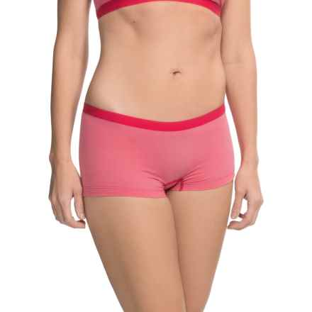 Arc'teryx Phase SL Panties - Boxer Brief (For Women) in Pink Lotus - Closeouts