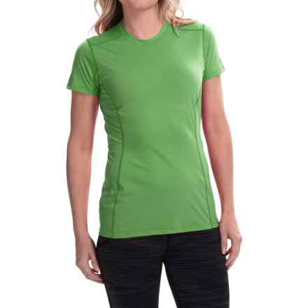 Arc'teryx Phase Superlight Crew Shirt - UPF 25, Short Sleeve (For Women) in Green Orchid - Closeouts