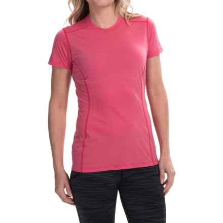 Arc'teryx Phase Superlight Crew Shirt - UPF 25, Short Sleeve (For Women) in Pink Lotus - Closeouts