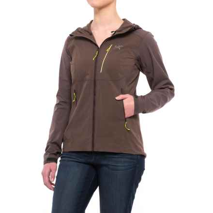 Arc'teryx Psiphon Hooded Jacket - Windproof (For Women) in Mirage - Closeouts