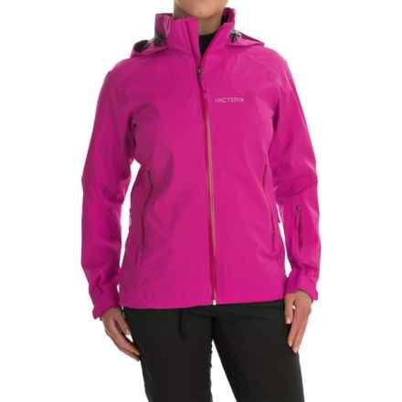 Arc'teryx Ravenna Gore-Tex® Jacket - Waterproof (For Women) in Violet Wine - Closeouts