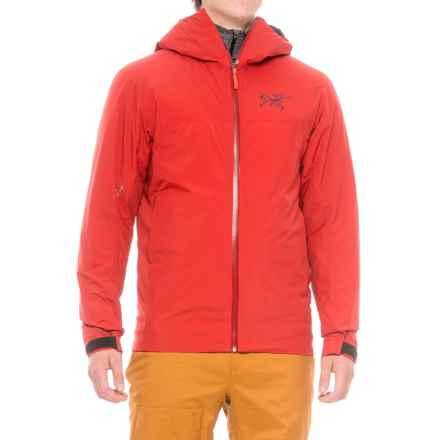 Arc'teryx Rethel Windstopper® Jacket - Insulated (For Men) in Vermillion - Closeouts
