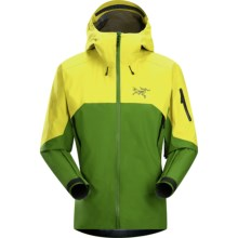 Arc'teryx Rush Gore-Tex® Jacket - Waterproof, Hooded (For Men) in Green Boa - Closeouts